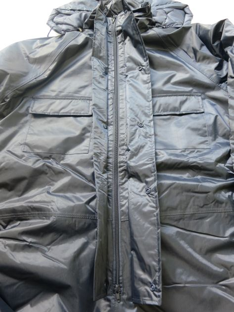 Winter Coveralls Zipfront design protected by storm flap