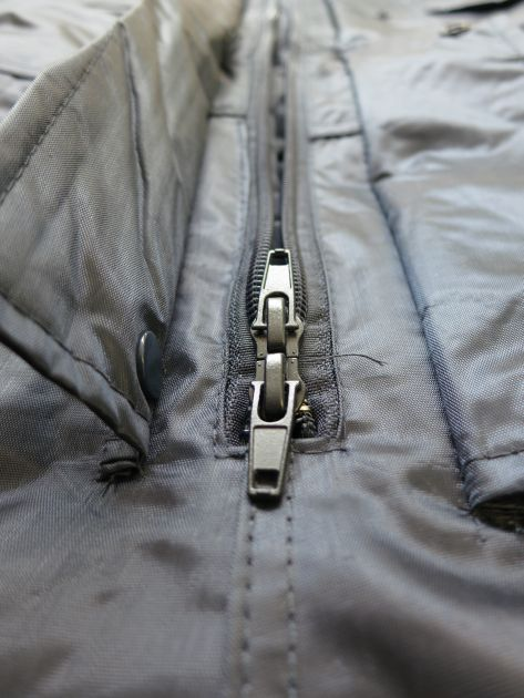 Winter Coveralls with double headed zipper