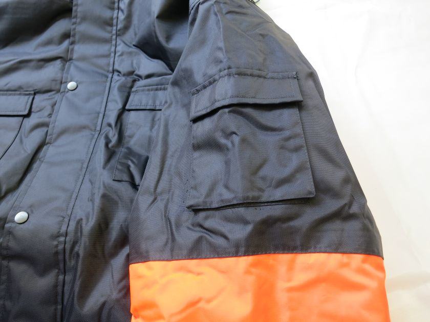 Winter Safety Parka with pocket at bicep area