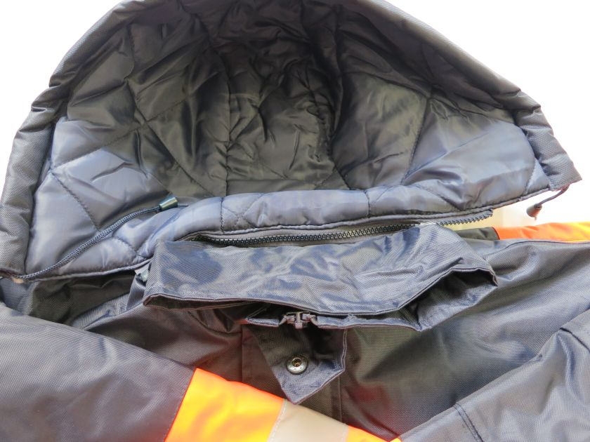 Winter Safety Parka Detachable Hood
