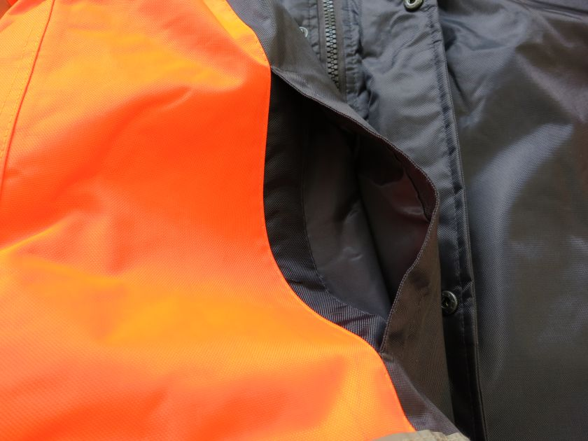 Winter Safety Parka with hand warmer pockets