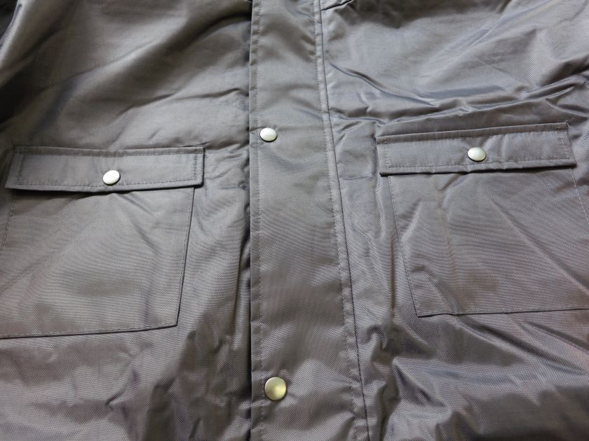 Winter Safety Parka front breast pocket