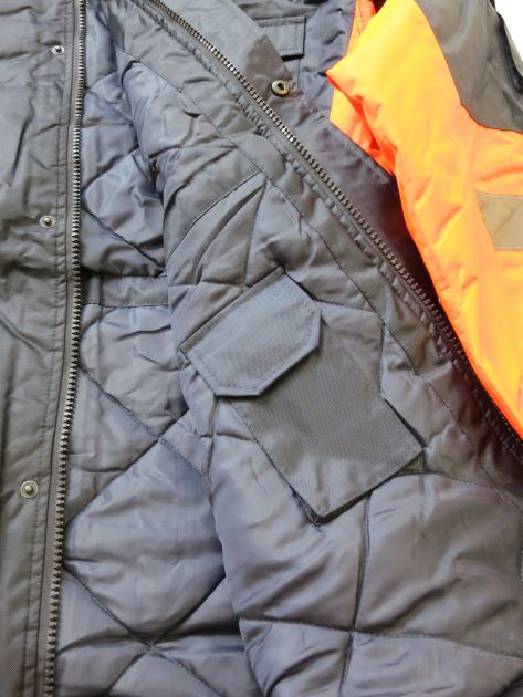 Winter Safety Parka interior pocket